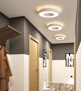 Modern Led Ceiling Lights For Hallway Porch Balcony Bedroom Living Room Surface Mounted Square Round LED Ceiling Lamp RW200