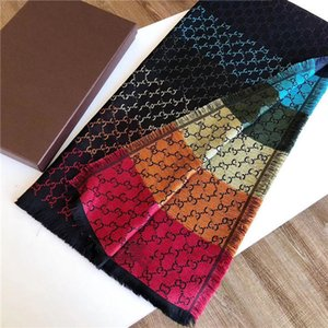fashion luxury scarf echarpe letter Spring and Autumn brand designer scarf shawl mens and woman Cashmere scarf 140*140CM