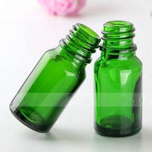 Elektronische Zigarette E Flüssigkeit Flasche 10ml Grün leeren Tropfer Dickes Glas 1 3 OZ Ätherisches Öl Mehrweg