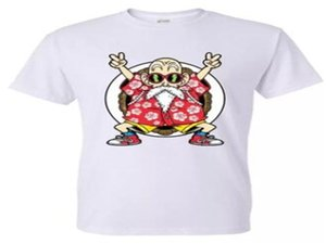 100% Baumwolle T-Shirt mit hochwertiger Art und Weise beiläufigen Dragon Ball Z Goku Druck T-Shirt Männer Harajuku Markenkleidung lustige T-Shirts
