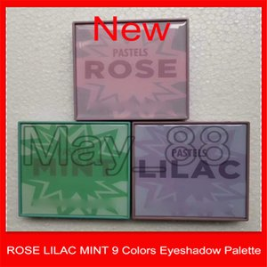 2020 Nuovo Marca ROSE LILLA MINT pastelli 9 colori occhio tavolozze ombra ROSE LILLA MINT 9 colori ombretto tavolozza Tavolozze Shimmer Matte