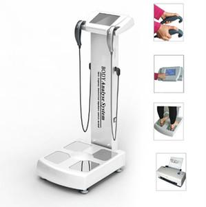 2019 New Human Body Elements Analyzer Körperfett-Test Gewichtskontrolle mit Drucker Most Popular Beauty Center Mensch-Körper-Analysator-Maschine
