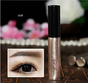 Красочный Eye Liner тени для век наклейки Eyeliner Pen Shimmer Блеск Сияющий Косметика Макияж цветов Eyeliner