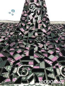 Son parti giyim net bez Fransız nakış bayan elbise PAN181 için dantel kumaş örgü (5yards / lot)