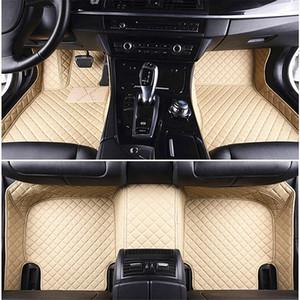 Lusso 3D personalizzati Tappetini auto per FORD FIESTA FOCUS FUSION MUSTANG MONDEO Ecosport ESCAPE BORDO Car Mats Auto Carpet Tapete Carro universale