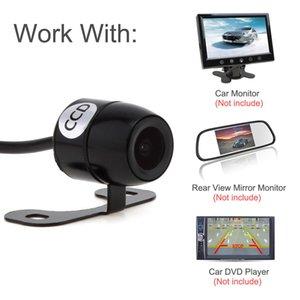 دي إتش إل شحن مجاني 420TVL البسيطة للرؤية الخلفية للرؤية الليلية سيارة كاميرا E306 18mm واللون اتفاقية مكافحة التصحر خارج Waterpoof على شاشات كال _025