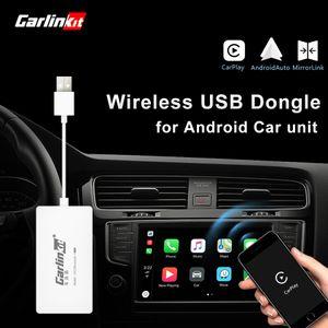 Carlinkit Auto Drahtloser Smart Link Apple CarPlay Dongle für Android-Navigations-Player Mini-USB-Carplay-Stick mit Android Auto
