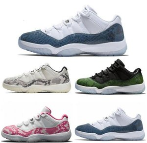 2020 High Quality 11 Space Jam Bred Concord Basketball Shoes Mens Women 11s Gym Red Midnight Navy Gamma Blue 7-10 Sneakers