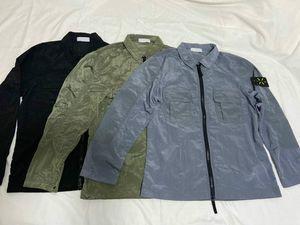 2020 mens designer jackets retro casual street jackets mens European explosion nylon jacket Comfortable waterproof lapel double pockets tops