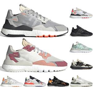 Adidas Nite Jogger BOOST Mit Gehen frei Socken 2020 Mens Nite Jogger Boost-Designer Laufschuh Sport-beiläufige TRACE PINK GRAY PACK Im Freien Turnschuhe Größe 36-45