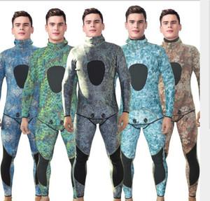 de color de camuflaje trajes de neopreno de pesca submarina profesional buceo libre wetsuit de dos piezas, pegado y cosido ciego, Japón neopreno, servicio del OEM disponible