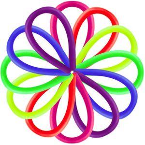 Néon Sling inquietação abreagir anti-stress corda flexível cola multicolorido macarronete Cordas TPR relaxar o k0489 Mood Hyperflex elástico Cordas