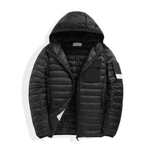 CP topstoney PIRATA EMPRESA 2020konng gonng invierno el peso ligero de la chaqueta con capucha de la chaqueta con capucha de moda ocasionales tapa de la capa de plumón