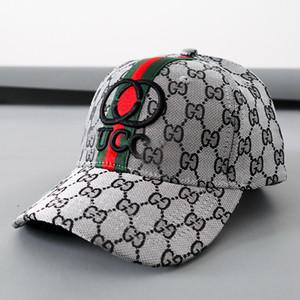 Street Fashion GG Cap logo Bordado Gorra de béisbol Deportes al aire libre Verano 4 estilos Sombreros con franja roja y verde Envío gratuito.