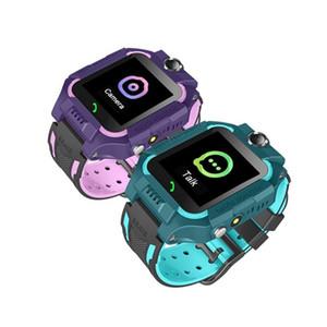 Слот Q19 Смарт Часы Wateproof Дети Смарт Часы LBS Tracker Smartwatches SIM-карты с камерой SOS для Android iPhone смартфонов с коробкой