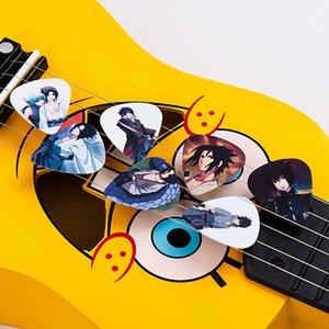 SOACH 50pcs 0.46 / 0.71 / 1.0mm Akustik gitar bas Müzik Aletleri gitar parçaları / ukulele aksesuarları alır