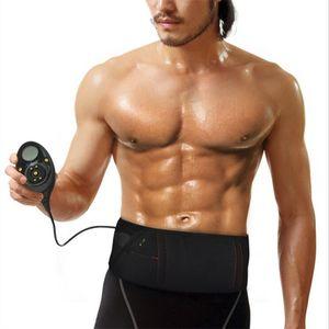 EMS 트레이너 복부 토닝 마사지 벨트 전기 슬리밍 마사지 벨트 근육 자극기 Unisex Abs 근육 토너 벨트