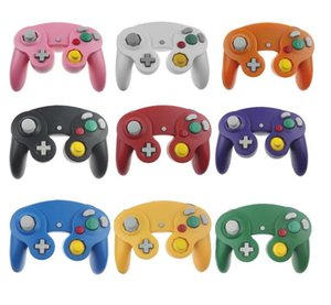 Multicolor Classic Retro Wired Gamepad joystick for Gamecube NGC Game Controller Console Analog gaming joypad For Wii FREE SHIPPING
