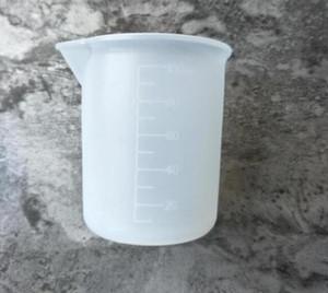 100 мл прозрачный мерный стаканчик со шкалой клей силиконовые измерительные инструменты для DIY выпечки кухня бар столовая аксессуары оптом