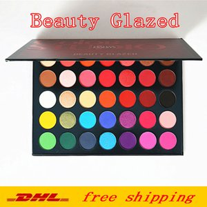 makeup palettes Beauty Glazed 35 Color Eye shadow shimmer matte makeup eyeshadow Color Studio palette Brand Cosmetics DHL free shipping