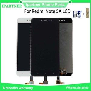 Для Xiaomi редми Примечание 5A ЖК-дисплей с сенсорным экраном дигитайзер Ассамблеи 2GB 16GB / 3GB 32GB запчастей