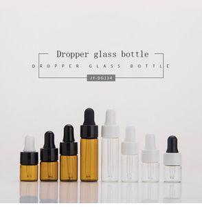 Wholesale 1ml 2ml 3ml 5ml small essential oil bottles, cosmetic bottles, medicine reagent bottles