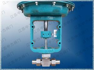 J621W pneumatic control globe valve