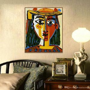 Virginie. HD Imprimer decores Pablo Picasso -Cubism art abstrait Peinture à l'huile sur toile Wall Art Home Déco P136 Haute Qualité