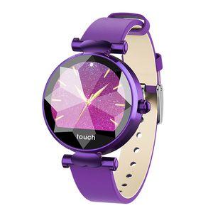 2018 Nuevo reloj para mujer B80 Fitness Tracker pulsera Bluetooth Monitoreo de la presión arterial IP67 a prueba de agua pulsera inteligente para mujeres