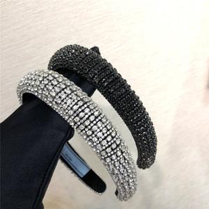 Diamant Frauen Designer Stirnband Haarzusätze praada Kopfschmuck kreative Art und Weise neue handgemachte Perle Retro Stirnband Partei essentials