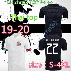 S-4XL H. LOZANO 2020 21 Ouro copo de Futebol camisas de futebol G. DOS SANTOS VELA Chicharito JIMENEZ MARQUEZ CARVOS V. RAUL México apagão