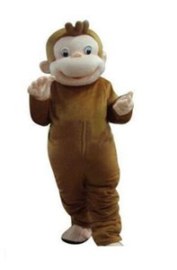2019 Factory direct sale Curious George Monkey Mascot Costumes