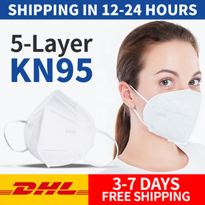 In Stock! Folding Face Mask With Qualified Certification Anti-dust Face Masks Wholesale Fast free Shipping By DHL