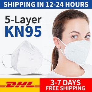 ¡En stock! Plegable máscara facial con certificación reconocidos mascarillas anti-polvo rápido al por mayor libre del envío de DHL