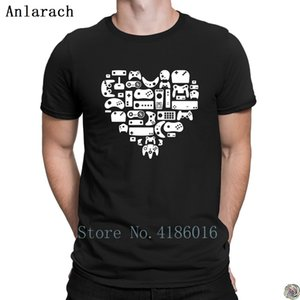Video Games Controllers t-shirts Printing O-Neck Summer Style clothing t shirt for men Graphic hip hop new Leisure