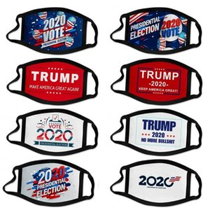 33 style US presidential election campaign Trump mask polyester printing mask outdoor dustproof mouth cover Designer Mask T9I00405