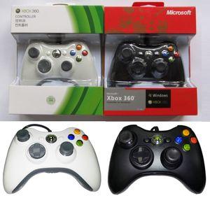 Melhor qualidade USB Wired Controlador Para Xbox 360 Game Acessórios Wired Gamepad Joypad Joystick Para XBOX360 Microsoft Console PC Controle DHL