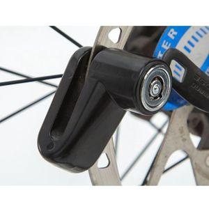 NEW Metal Disc Bike Lock Bicycle Rotor Motorcycle Anti-theft Scooter Disk Brake