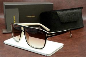 Wholesale-Qualtiy superior de la nueva manera 0392 el diseñador Tom gafas de sol para hombre WomanEyewear Ford Marca Sun vidrios del verano Shades Gafas de Sol Gafas