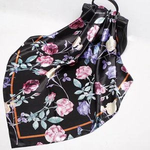 exquisite and elegant with breathable natural silk scarf fashion and attractive with beauty patter lively colors