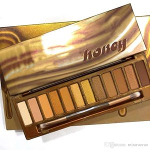 1PCS NEW Eyeshadow Palette 12 colors Eye Shadow Maquillage nude palette 2019 nk honey High quality palette