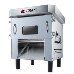 Выдвижной Тип Meat Slicer Коммерческий Полностью автоматические из нержавеющей стали легко заменить Мясорубку Slicer DICING машина Dicer