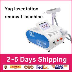 Con rojo aimingPro 1064 532nm Q Switched limpieza de la máquina del tatuaje del equipo de láser Nd Yag pigmento ceja máquina de belleza de eliminación