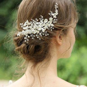 Braut Kopfschmuck Wasser Drill Hairpin Hochzeit Haar Rebe Clip Handgemachte Hochzeit Zubehör Original Design Haar-Accessoires