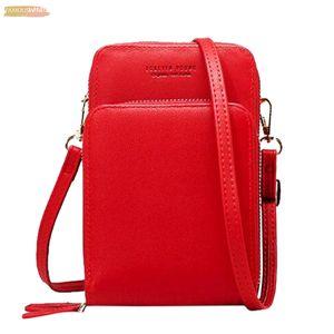 New Arrival Plain Colorful Cellphone Bag Fashion Daily Use Card Holder Small Summer Shoulder Bag For Women Bolsa Feminina 3