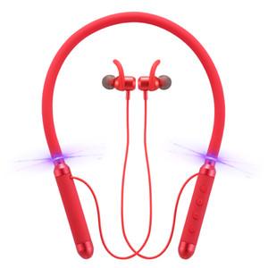Casque d'origine 100% Bluedio KN Réduction active du bruit monté sur le cou 4.2 Oreillette Bluetooth Mini Bluetooth sans fil Écouteurs Écouteurs voiture