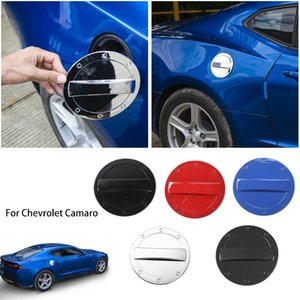 Tank Cover porta di combustibile Protect decorazioni della cornice Adesivi per Chevrolet Camaro 2017 Up Car Styling Accessori Esterni