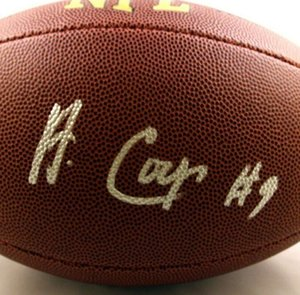 Amari Cooper Autographed Signed signatured USA America rugby National football League sports indoor  out door Football ball
