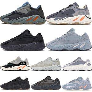 2020 tim haber ayakkabı mens spor ayakkabıları Karbon Mavi Hastane Blu263d çalıştıran # 700 Turuncu v1 v2 v3 kemik Atalet Yanardağın statik katı Kanye West mnvn