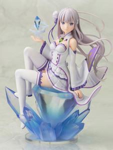 Re: Das Leben in einer anderen Welt von Zero Emilia PVC Action Figure Anime Figur Modell Spielzeug Sammlerpuppe Geschenk T200603